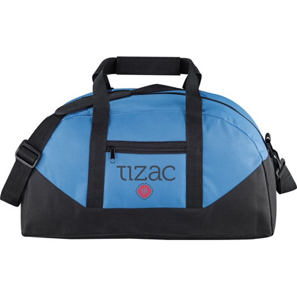 Stadium - Polycanvas Duffel Bag With Front Zippered Pocket Photo