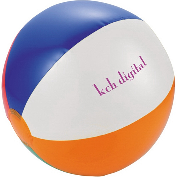 "Swirl - Inflatable Pvc 12"" Beach Ball Photo"
