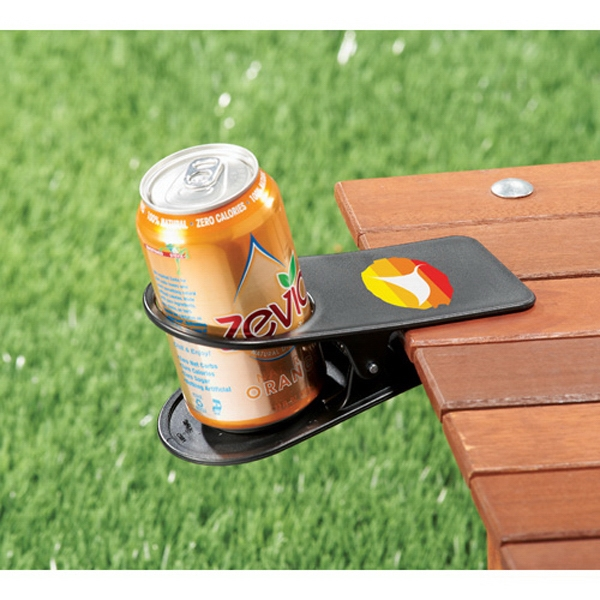 Game Day - Drinkware Clip, Abs Plastic. Clip On A Table Or Desk To Hold Your Drink Photo