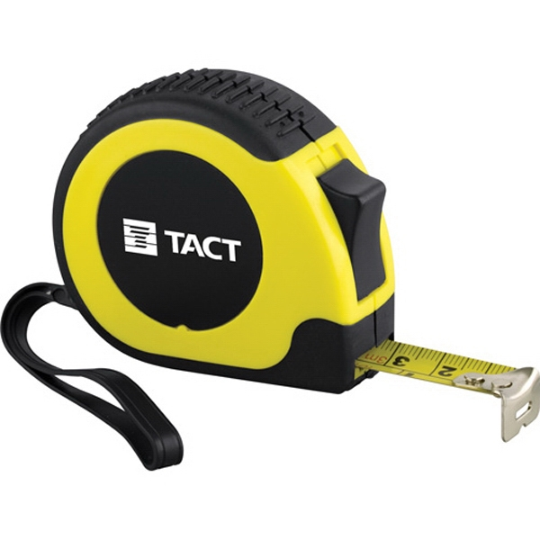 Rugged Locking Tape Measure With 10' Retractable Metal Tape Photo
