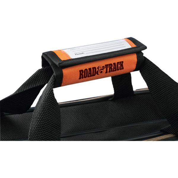 Find Me - Handle Wrap Luggage Identifier Includes Cardboard Information Card Photo