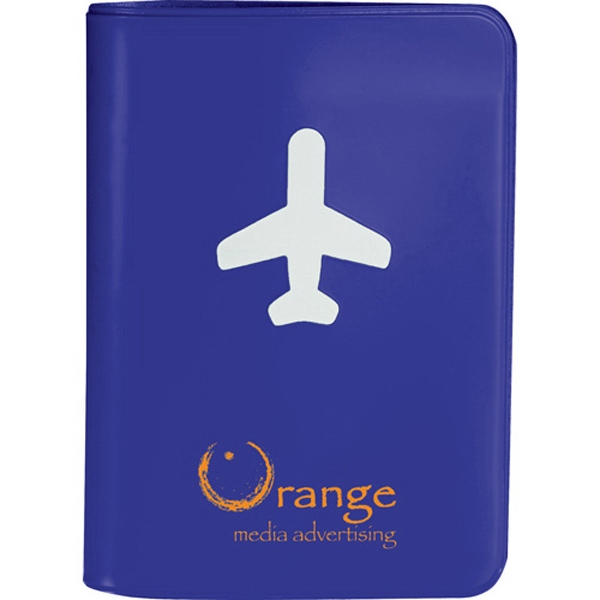 Voyage - Protect Your Passport With This Cover. Interior Includes Open Document Pocket Photo