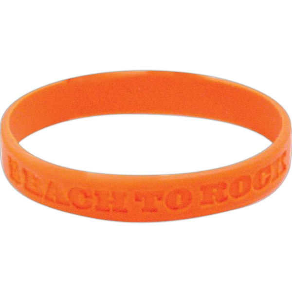 Silicone Debossed Wristband Photo