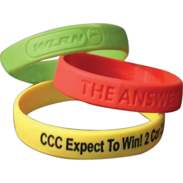 Recycled Silicone Rubber Wristband Photo