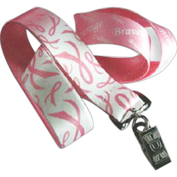 Breast Cancer Awareness Lanyard Photo