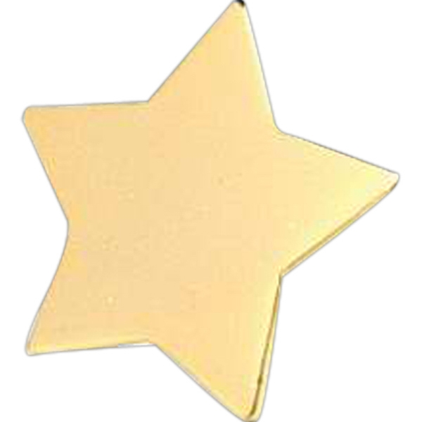 "Gold Star 1"" - Stock Lapel Pin Photo"
