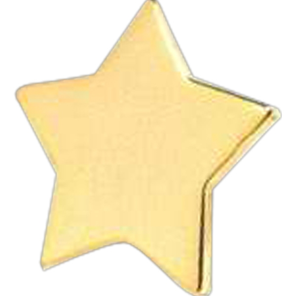 "Gold Star 3/4"" - Stock Lapel Pin Photo"