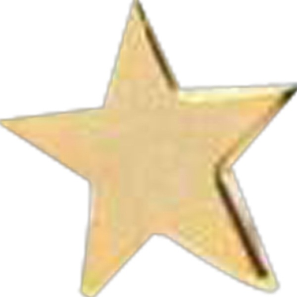 "Gold Star 1/2"" - Stock Lapel Pin Photo"