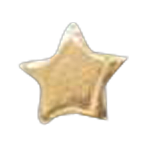 "Gold Star 1/4"" - Stock Lapel Pin Photo"