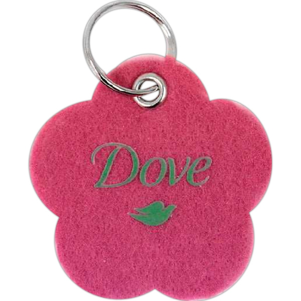 "2"" - Key Tag With Metal Grommet And Split Ring With Luggage Tag Cord Option Photo"