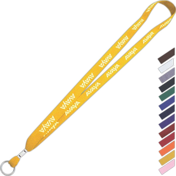 "Cotton 1-ply Lanyard, 5/8"" Wide, 34"" To 35"" In Length Photo"