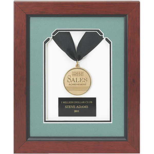 Gold Framed Medallion Award