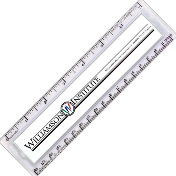 "Quickview Nature Ad (tm) - 7"" Ruler Made Of 100% Us Corn Plastic Photo"