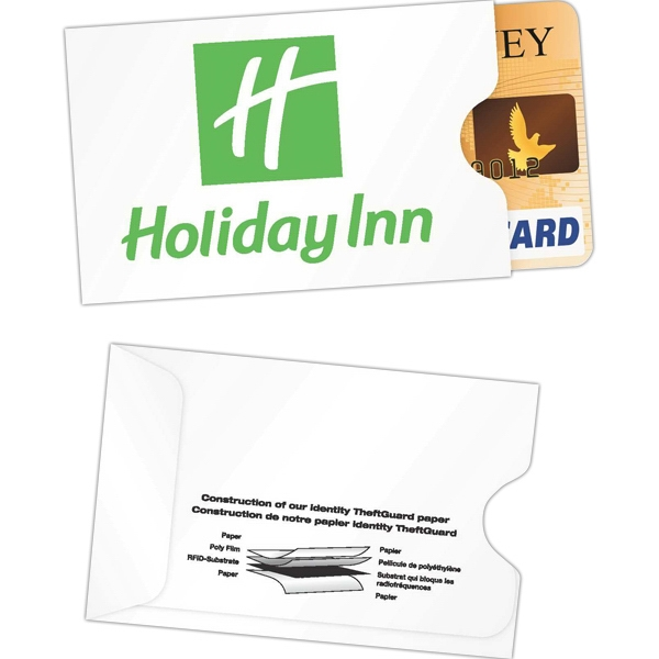 Rfid Quick Shield (tm) - Protective Sleeve For Credit Card With Durable Multi-layer Design Photo