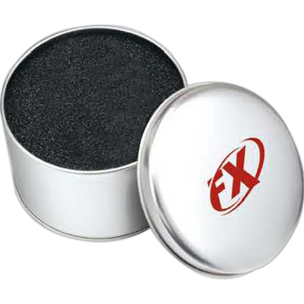 Blank Round Tin Box Photo