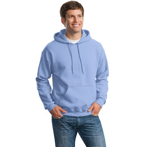 Gildan (r) - S -  X L Heathers - Cotton/polyester Pullover Hooded Sweat Shirt With Matching Drawstring Photo