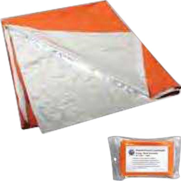 Polarshield Silver/Orange Survival Blanket