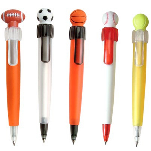 Pen With Soft Sports Ball Head Photo