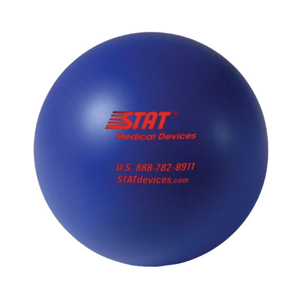 Squeezies (r) - Blue - Stock Color Stress Ball Photo
