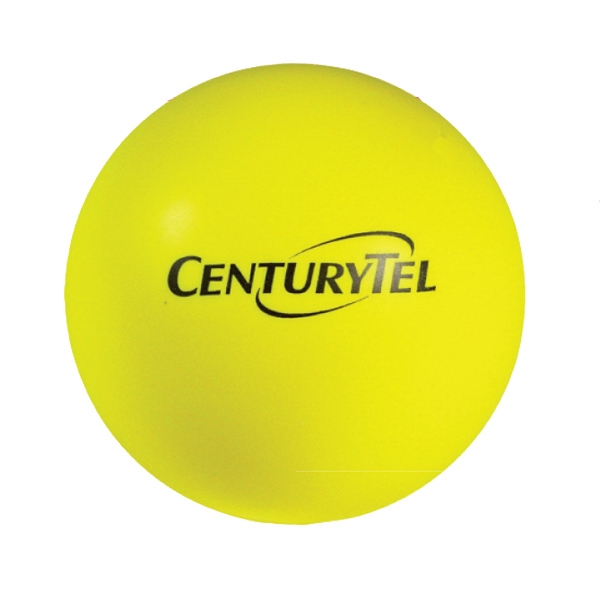 Squeezies (r) - Yellow - Stock Color Stress Ball Photo