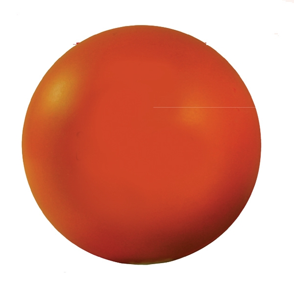 Squeezies (r) - Orange - Stock Color Stress Ball Photo