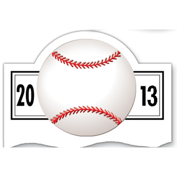 Magnet 20 Mil - Baseball Schedule - Full Color. Digital Four Color Process Print Photo
