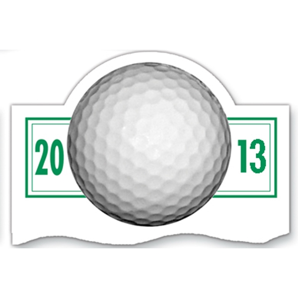 "Magnet 20 Mil - Golf Schedule. Digital Four Color Process Print; Size 3 X 5"" Photo"
