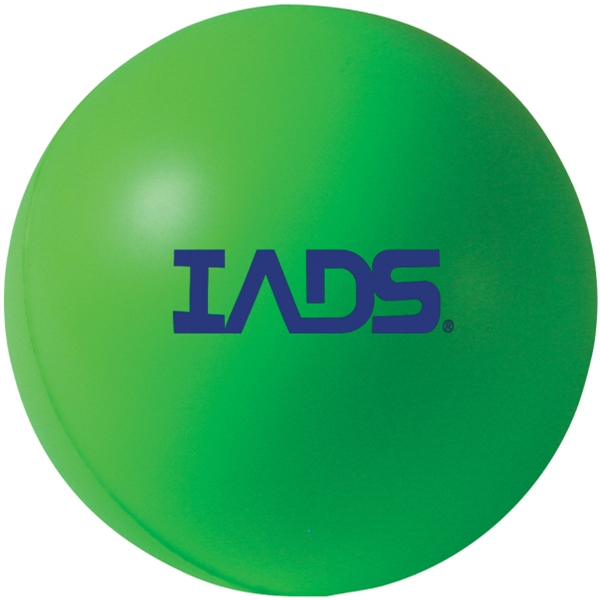 Squeezies (r) - Green - Stock Color Stress Ball Photo