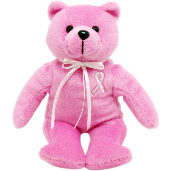 "8"" Breast Cancer Bear"