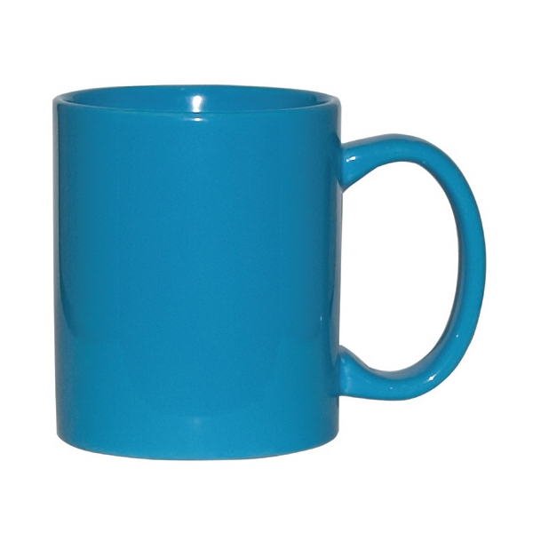 Aqua - 11 Oz. Ceramic C-handle Mug Photo