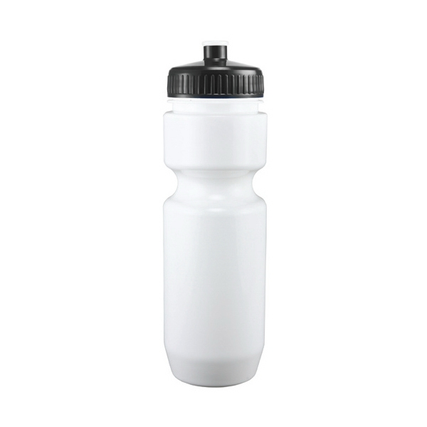 Adams - Black - 26 Oz. White Pet Sports Bottle Photo