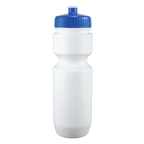 Adams - Blue - 26 Oz. White Pet Sports Bottle Photo