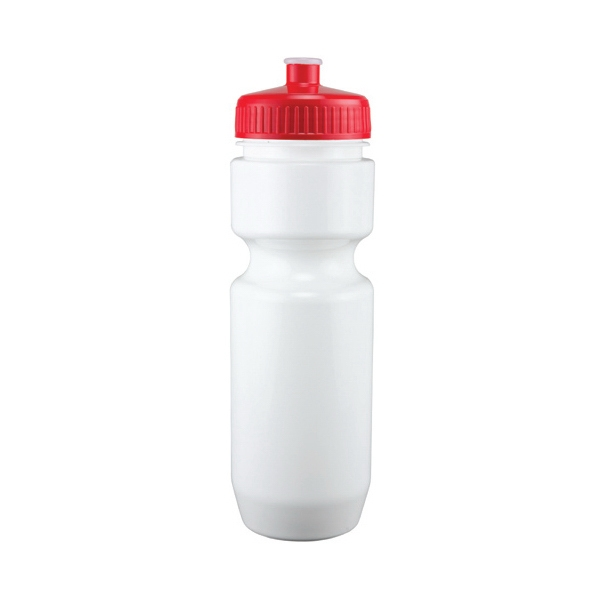 Adams - Red - 26 Oz. White Pet Sports Bottle Photo