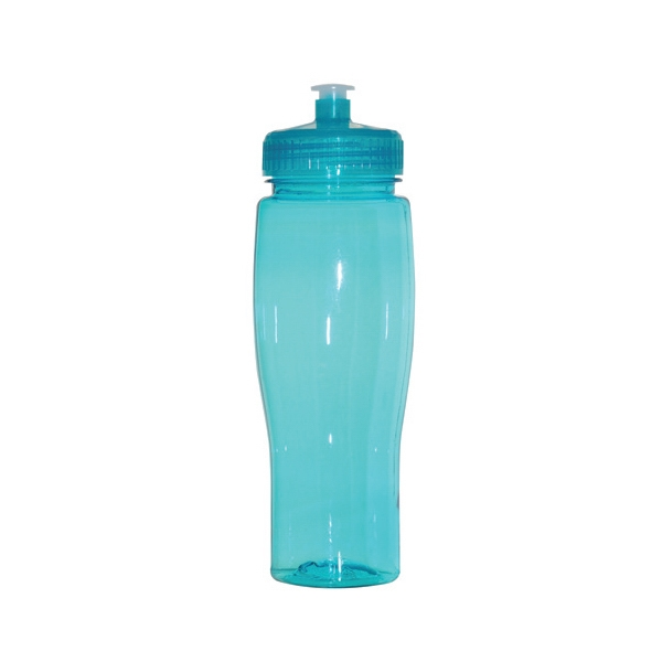 Jefferson - Aqua - 24 Oz. Pet Sports Bottle Photo