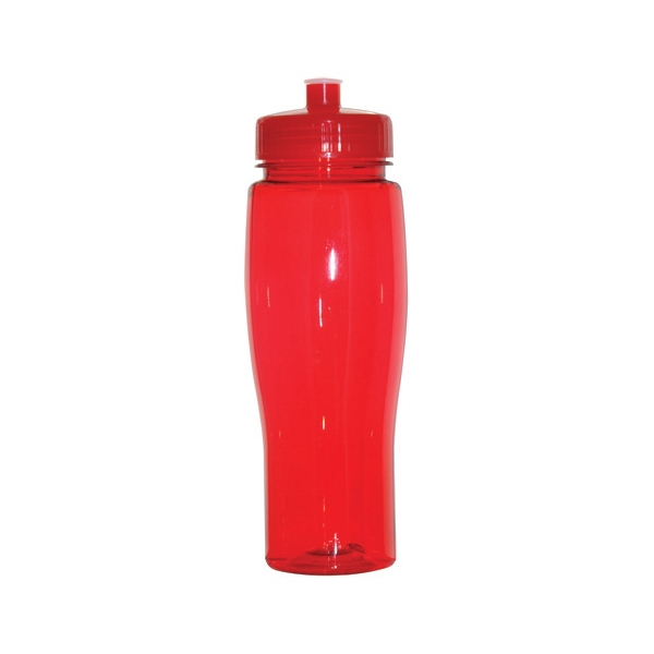 Jefferson - Red - 24 Oz. Pet Sports Bottle Photo
