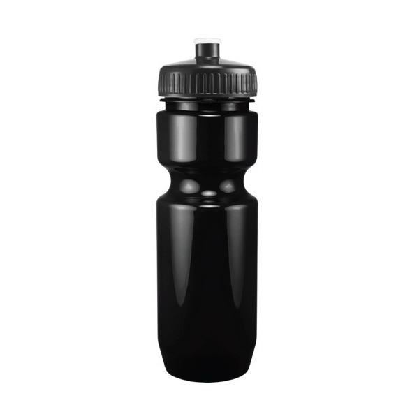 Madison - Black - 26 Oz. Black Pet Sports Bottle Photo