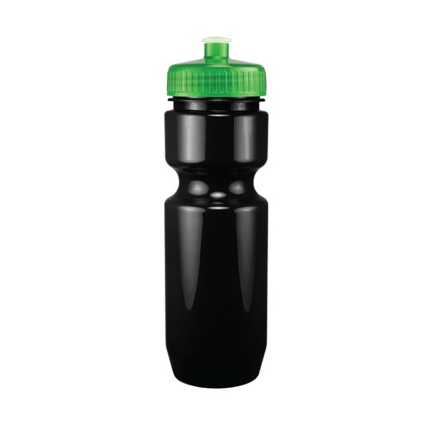 Madison - Green - 26 Oz. Black Pet Sports Bottle Photo