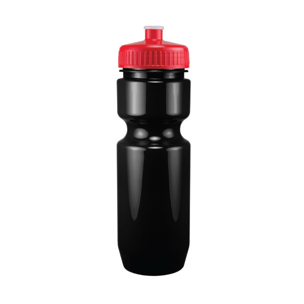 Madison - Red - 26 Oz. Black Pet Sports Bottle Photo