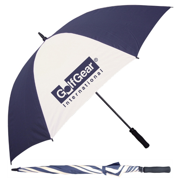 "Catalog 10 Day Production - Fiberglass Golf Umbrella With 60"" Arc Photo"