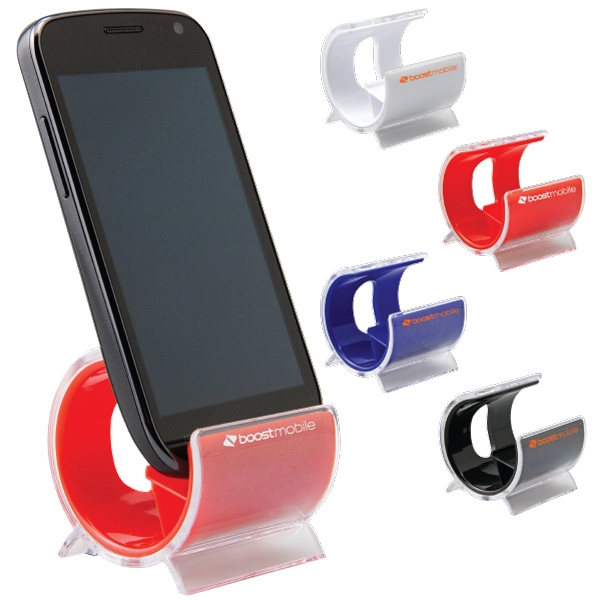 Ilounge - Catalog 5-7 Day Production - Phone Holder Has Modern Design With Vibrant Colors & It Stands Phone Upright Photo