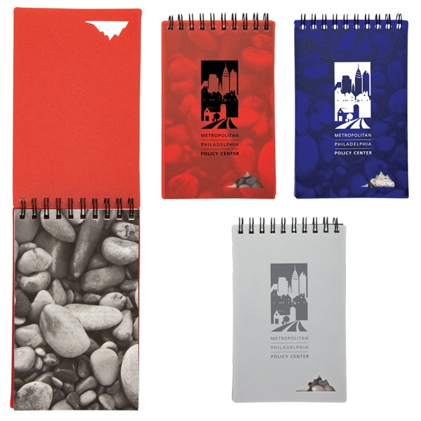 Pebble (r) - Sale 5-7 Day Production - Jotter With Waterproof Plastic Case & Paper Made From Natural Stone Photo