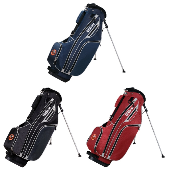 Wilson (r) Profile Lite - Catalog 20 Day Production - Golf Carry Bag With Towel Ring And Padded Strap Photo