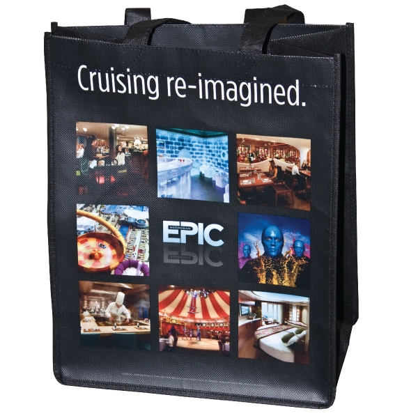 Full Color Non-woven Laminated Bag Photo
