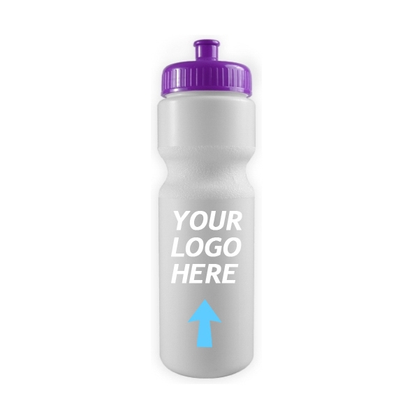 28 oz Sports Bike Bottle with Push Pull