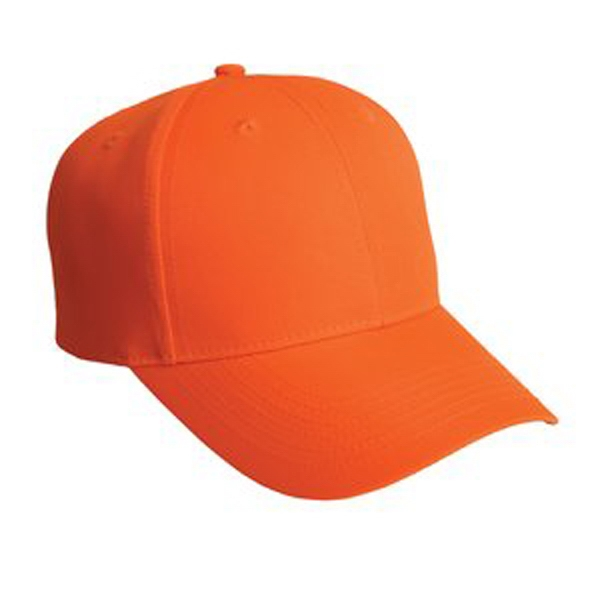 Port Authority (r) - Solid Safety Cap, 100% Fluorescent Polyester Photo