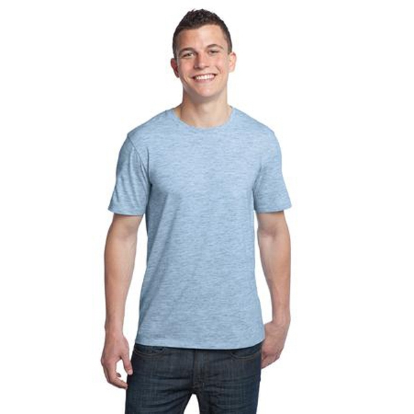 District (r) -  X S -  X L Colors - Young Men's Extreme Heather Crew Tee Shirt Photo