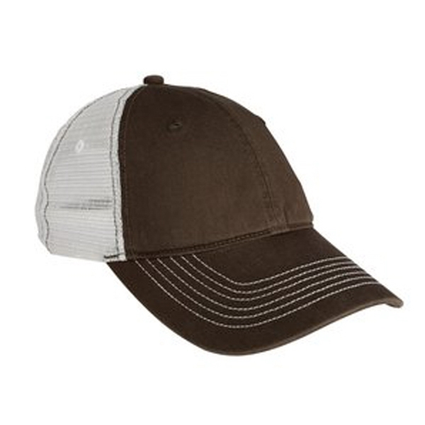 District (r) - Unstructured Low Profile 100% Cotton Cap With 100% Polyester Mesh Photo