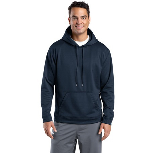 Sport-tek (r) Sport-wick (r) - 3 X L Colors - Fleece Hooded Pullover Jacket Photo