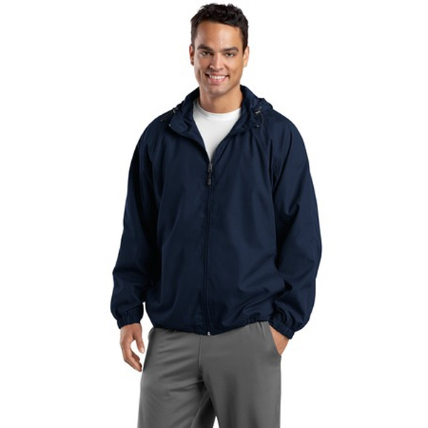 Sport-tek (r) -  X S- X L All Colors - Hooded Raglan Jacket, 100% Polyester Shell Photo