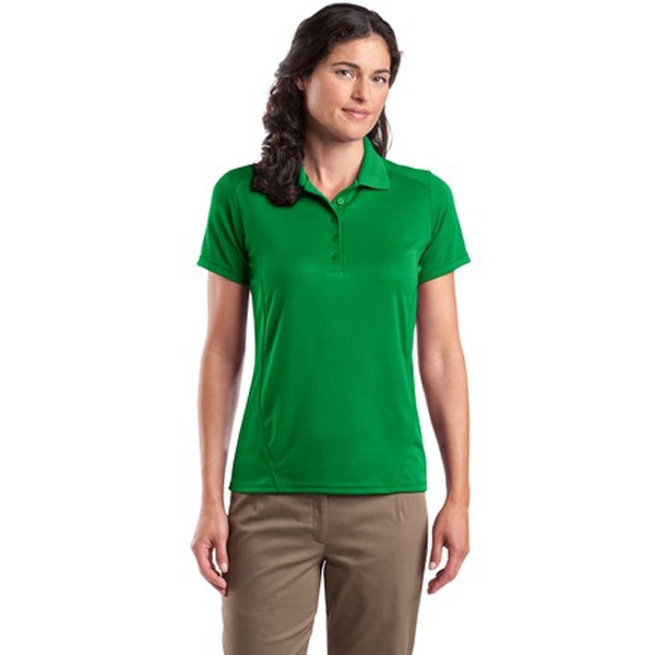 Sport-tek (r) Dry Zone (tm) -  X S- X L - Ladies' Raglan Polo Shirt, 3.8 Ounce, 100% Polyester Photo